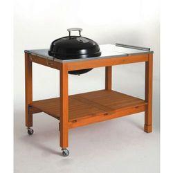 Grill kulisty 44 cm na stole drewnianym firmy  11484, marki Landmann do zakupu w GrillCenter.com.pl