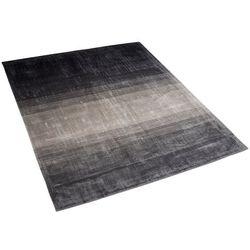 Dywan szaro-czarny 140 x 200 cm krótkowłosy ERCIS (4260602375043)
