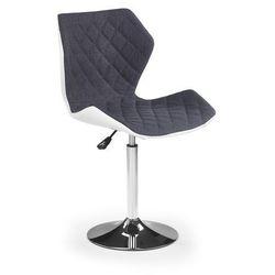 Młodzieżowy fotel obrotowy - matrix 2- popiel marki Halmar