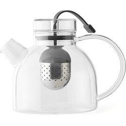 Szklany czajnik z zaparzaczem do herbaty New Norm Menu 0,75 Litra (4545119)
