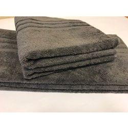 Ręcznik hotelowy 70x140 cm grafit antracyt 100% bawełna egipska marki Slevo