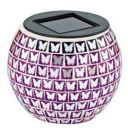 47218 - lampa solarna schmetterling 1xled/0,03w różowa marki Eglo