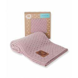 Pink no more - kocyk dziany pinky dust (5907477633319)