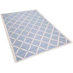 Dywan jasnoniebieski wełniany 160x230 cm dali marki Beliani