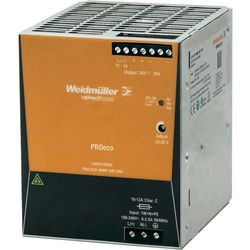 Zasilacz na szynę din  pro eco 480w 24 v 20a 24 v/dc 20 a 480 w 1 x wyprodukowany przez Weidmueller