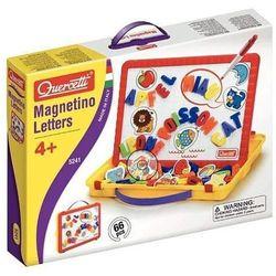 Quercetti Tablica magnetyczna literki magnetino (8007905052419)