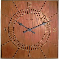 Zegar ścienny Wood Square, 3112br