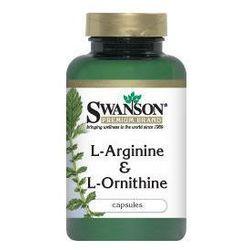 L-Arginina & L-Ornityna 500/250mg 100kaps - sprawdź w wybranym sklepie