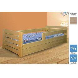 łóżko dziecięce weronika z szufladą 90 x 200 marki Frankhauer