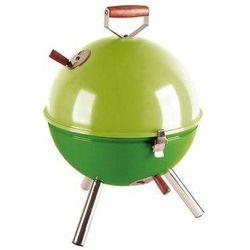 Grill okrągły zielony Mini BBQ CO-672055 (śr. 30 cm) - produkt z kategorii- Grille