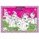 BoMaBi Kolorowanka podłogowa - Filly Unicorn, Princess & Witchy z kategorii kolorowanki