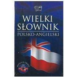 Wielki słownik polsko-angielski, angielsko-polski + CD gratis ( 2 tomy) (ilość stron 1300)