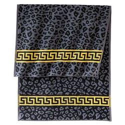 """Bonprix Ręczniki """"leo"""" czarno-szary"""