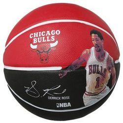 Spalding NBA PLAYER Piłka do koszykówki rot/schwarz z kategorii Koszykówka
