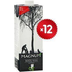 MAGNUM 12x1l Sok z brzozy naturalny lekko słodzony litewski | DARMOWA DOSTAWA OD 200 ZŁ - sprawdź w wybrany