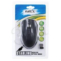 Mysz bezprzewodowa Natec optyczna Starling 1600dpi czarna