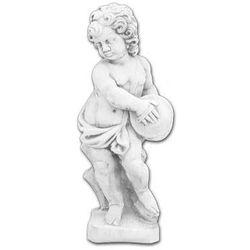 Figura ogrodowa betonowa Dziecko z Bębenkiem 70cm