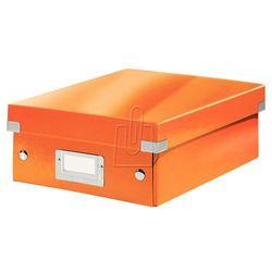 Pudło Click & Store z przegródkami małe pomarańczowe 6057, BP820021