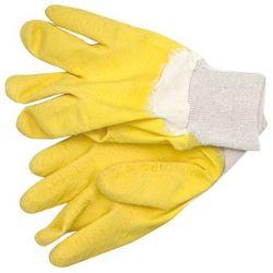 Rękawice robocze VOREL 74160 Żółty (rozmiar 10) (5906083741609)