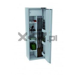 Szafa na broń długą mlb 150d/4+4 el s1 - zamek elektroniczny marki Konsmetal