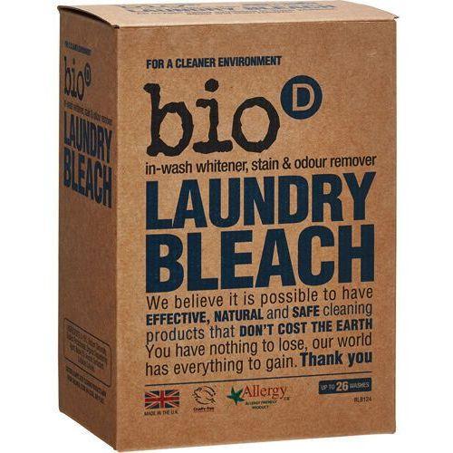 BIO-D Laundry Bleach antybakteryjny wybielacz i odplamiacz do prania 400 g - produkt z kategorii- wybielacze i