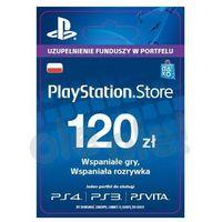 playstation network 120 zł [kod aktywacyjny] marki Sony
