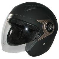 Kask motocyklowy MOTORQ Torq-o8 otwarty czarny mat (rozmiar XS) + DARMOWY TRANSPORT!