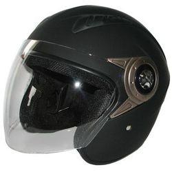 Kask motocyklowy MOTORQ Torq-o8 otwarty czarny mat (rozmiar XS) + Zamów z DOSTAWĄ JUTRO!