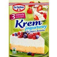 DR OETKER 140g Krem jogurtowy   DARMOWA DOSTAWA OD 150 ZŁ!, kup u jednego z partnerów