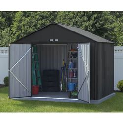 Arrow Metalowy domek ogrodowy ezee 3,1 x 2,4 m (0026862110688)