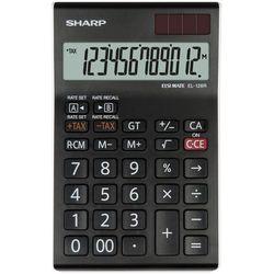 Sharp Kalkulator el126rwh czarny (4974019793856)