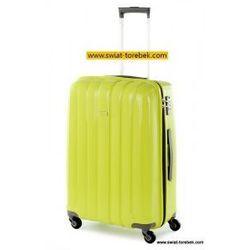 PUCCINI walizka duża z kolekcji PP006 twarda 4 koła materiał Polipropylen zamek szyfrowy z systemem TSA