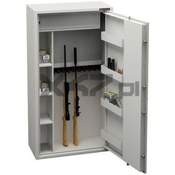 Konsmetal Szafa na broń długą mlb 150d/10+4 s1 el