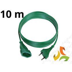 Abex Przedłużacz choinkowy 10m zielony ps-110ch -