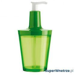Dozownik do mydła flow zielony marki Koziol