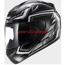 KASK MOTOCYKLOWY KASK  FF352 ROOKIE RANGER BLACK WHITE, LS2
