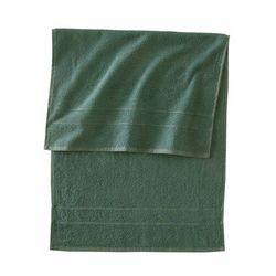 Bonprix Ręczniki bawełniane (4 szt.) zieleń jodły