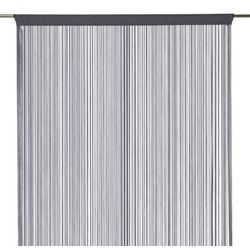 Firana sznurek 140 x 260 cm grafitowa (3663602684091)