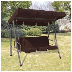 Producent: elior Huśtawka ogrodowa z baldachimem swing kolor brązowy (8718475557081)