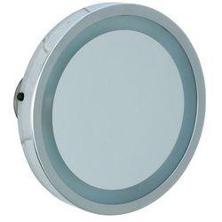 Lusterko kosmetyczne MOSSO, powiększające x3 - podświetlenie LED, 3 przyssawki, WENKO
