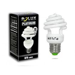 Świetlówka energooszczędna POLUX Platinum 15W E27 2700K