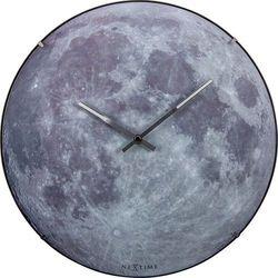 Zegar ścienny blue moon dome  35 cm marki Nextime