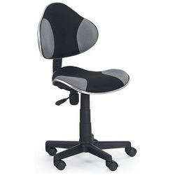 Fotel młodzieżowy Liber - szaro-czarny, V-CH-FLASH-FOT-POPIEL