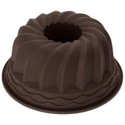 Okrągła forma do pieczenia ciast - silikonowa, 24 cm, brązowa marki La cucina