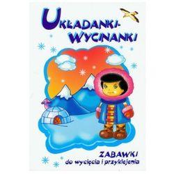 Układanki - Wycinanki. Zabawki do wycięcia i przyklejenia, książka z kategorii Książki dla dzieci