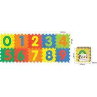 Mata piankowa SMILY Cyfry prostokątna (64 x 160 cm)
