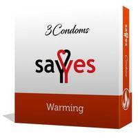 Warming - Prezerwatywy z środkiem rozgrzewającym