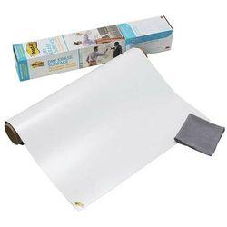 Suchościeralna folia w rolce post-it dry erase (def50x4-eu) 1524x121cm biała marki Post-it-3m