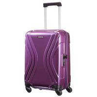 Mała walizka AMERICAN TOURISTER 91A Vivotec fioletowa - fioletowy