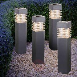 Solarna lampa z grotem ziemnym LED 33269-4 4 szt. (9007371353019)